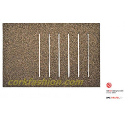 Cork Bath Mat - Rect (model SD-21.03.05) from the manufacturer Simpleformsdesign in category Bathroom